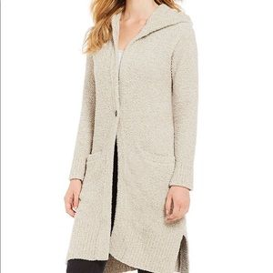 Ugg Judith Driftwood Hooded Cardigan Sweater